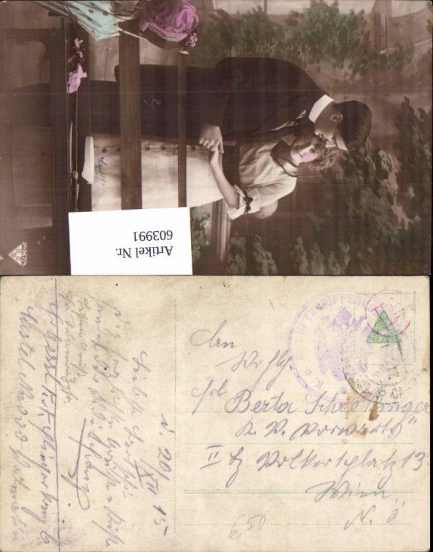 603991,K. u. K. Feldpost Luftschifferkompagnie 6 Rundstempel