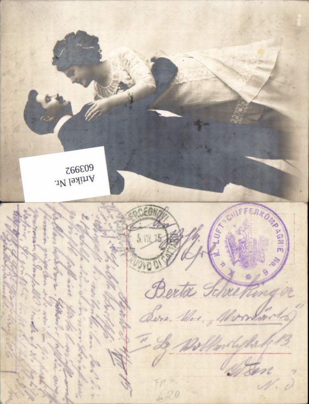 603992,K. u. K. Feldpost Luftschifferkompagnie 6 Rundstempel Hercegnovi Castellnuovo