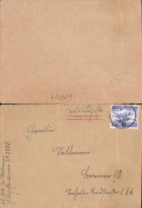 Luftfeldpost Feldpost 24290 B n. Bremen Stab I u. 1.-3. Batterie Artillerie-Regiment  291
