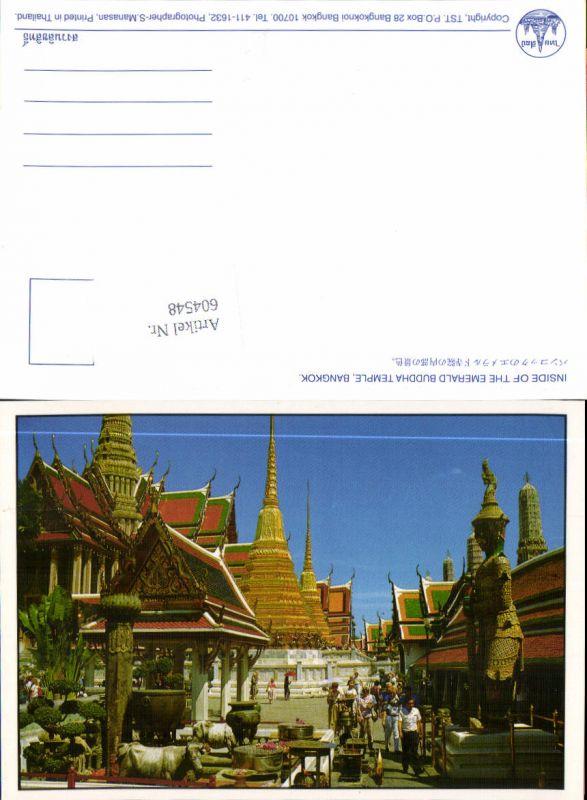 604548,Bangkok Thailand Asia Postcard