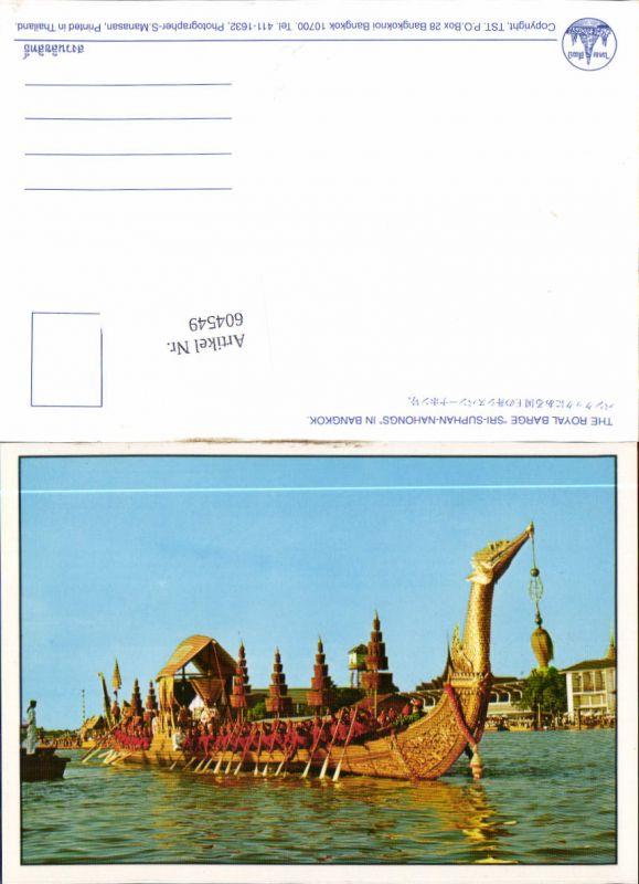 604549,Bangkok Thailand Asia Postcard