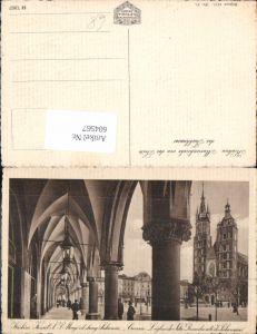 604567,Krakau Krakow Poland Marienkirche Tuchhaus