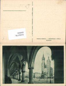 604569,Krakau Krakow Poland Arkaden