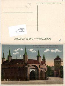 604571,Krakau Krakow Poland Rotonde Rotunda