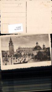 604573,Krakau Krakow Poland Rathaus Tuchhalle