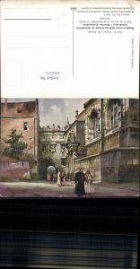 604574,Künstler AK St. Tondos W. Kossak Krakau Krakow Poland