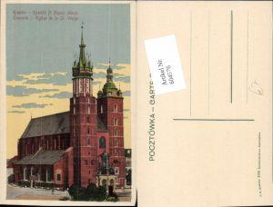 604576,Krakau Krakow Poland St. Vierge