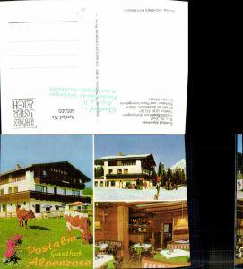 605305,Mehrbild Ak Strobl a. Wolfgangsee Gasthof Alpenrose