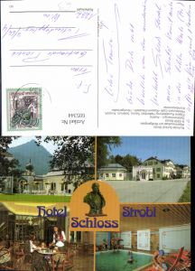 605344,Mehrbild Ak Strobl a. Wolfgangsee Kurhotel Schloss Strobl