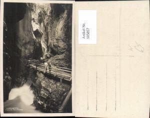 605857,Foto Ak Kaprun Sigmund-Thun Klamm Kaprunertal