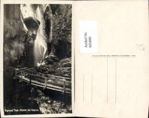 605880,Foto Ak Kaprun Sigmund-Thun Klamm