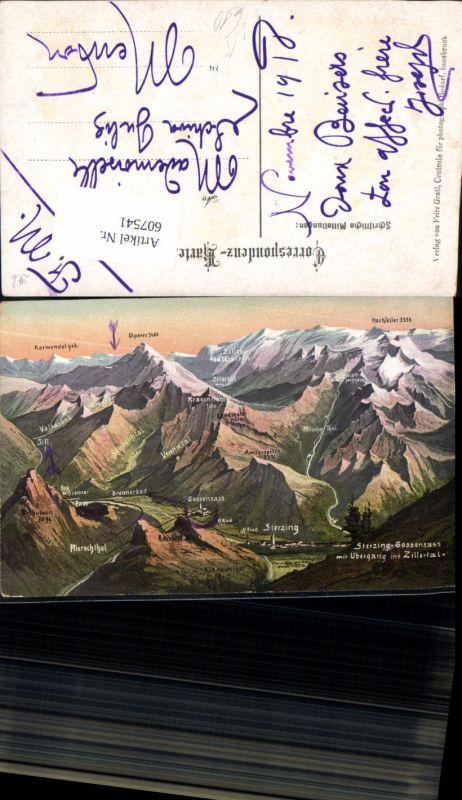 607541,Künstler AK Sterzing Trentino Brennerbad Brenner Gossensass Ried Sill Ridnaun pub Gratl