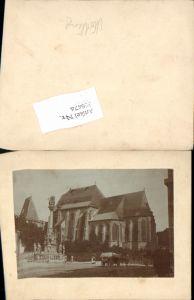606474,tolles CDV Foto um 1880 Perchtoldsdorf b. Wien Kirche