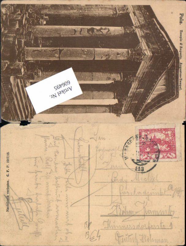 606495,Stempel Bahnpost Warnsdorf – Bodenbach 113 Zug Böhmisch Kamnitz Böhmen