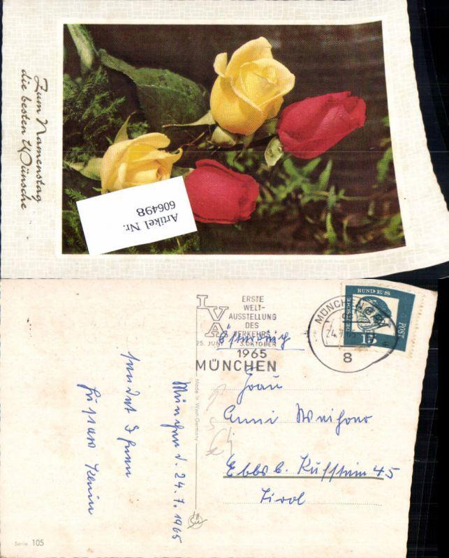 606498,Stempel München BPA n Ebbs Kufstein 1965