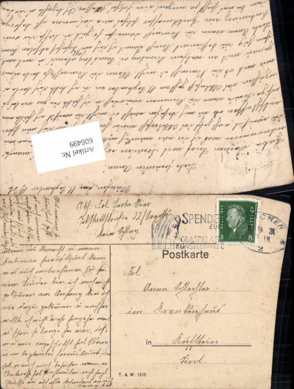 606499,Stempel München n. Kufstein 1931