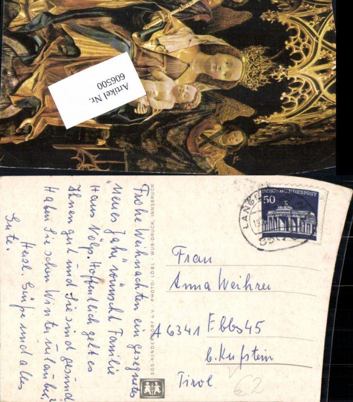 606500,Stempel Langenzenn Fürth n. Ebbs Kufstein 1962 SOS Kinderdorf