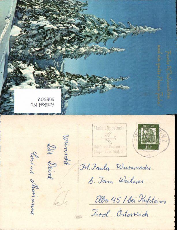 606502,Stempel Nachtluftpostnetz Rosenheim 13b