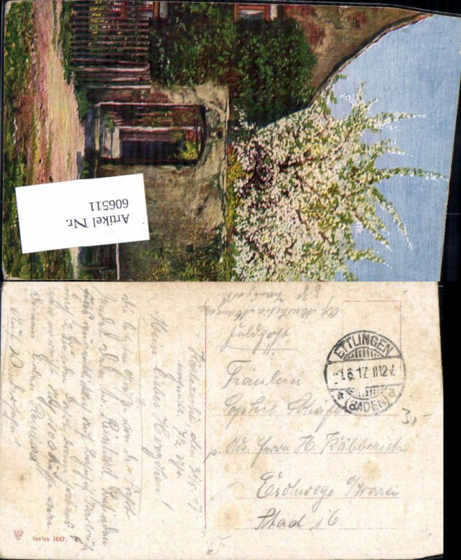 606511,Stempel Ettlingen Baden-Württemberg