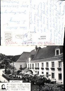 608380,Hinterbrühl b. Mödling Hotel Restaurant Höldrichsmühle Schubert Der Lindenbaum