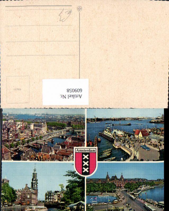 609058,Mehrbild Ak Amsterdam Netherlands