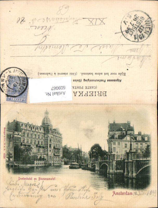 609067,Amsterdam Doelenhotel en Binnenamstel Netherlands