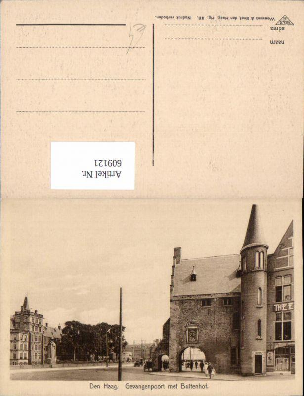 609121,Den Haag Gevangenpoort met Buitenhof Netherlands