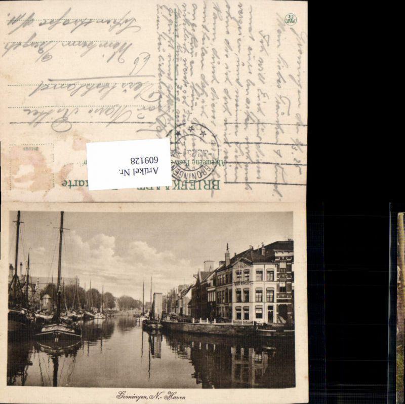 609128,Groningen Haven Schiffe Boote Netherlands