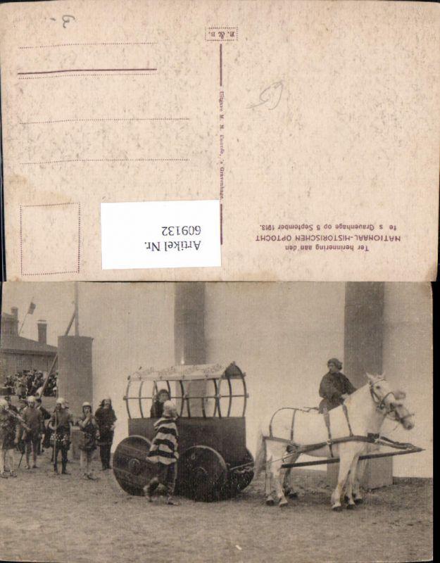 609132,´s Gravenhage Nationaal-Historischen Optocht 1913 Netherlands