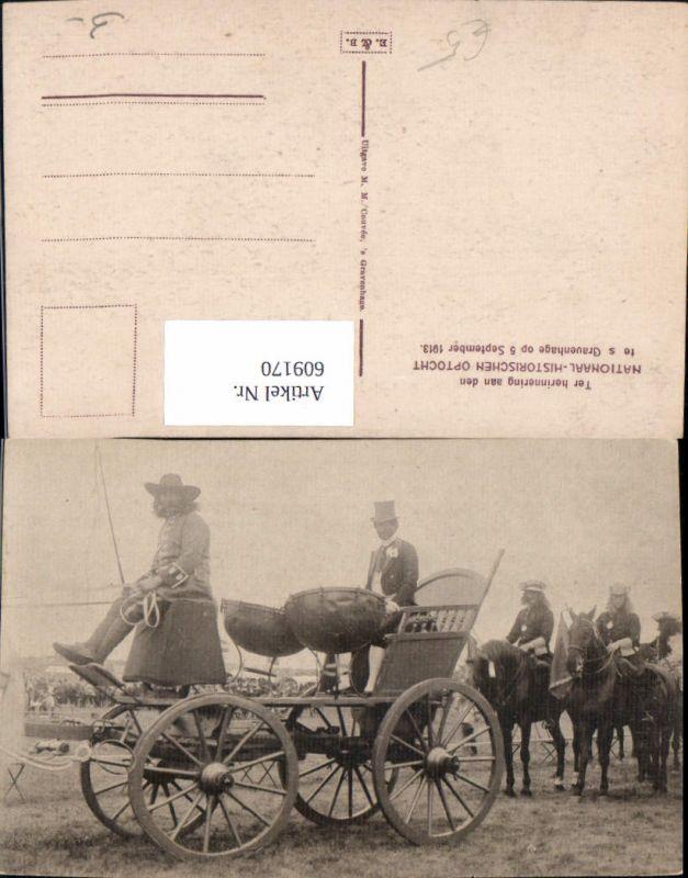 609170,´s Gravenhage Nationaal-Historischen Optocht 1913 Netherlands