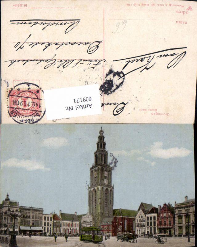 609171,Groningen Groote markt Netherlands