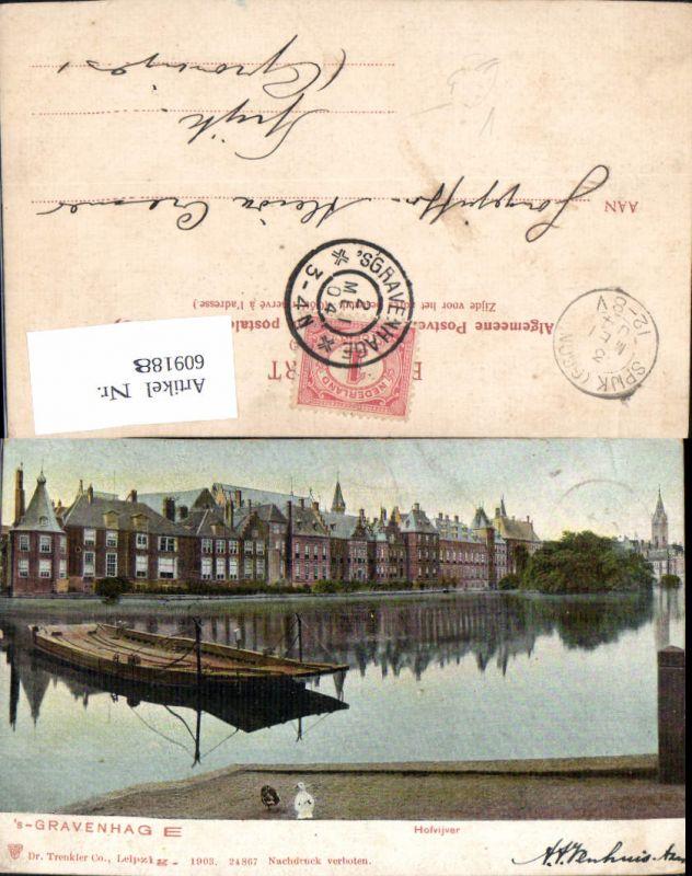609188,´s Gravenhage Hofvijver Netherlands pub Dr. Trenkler Co 24867
