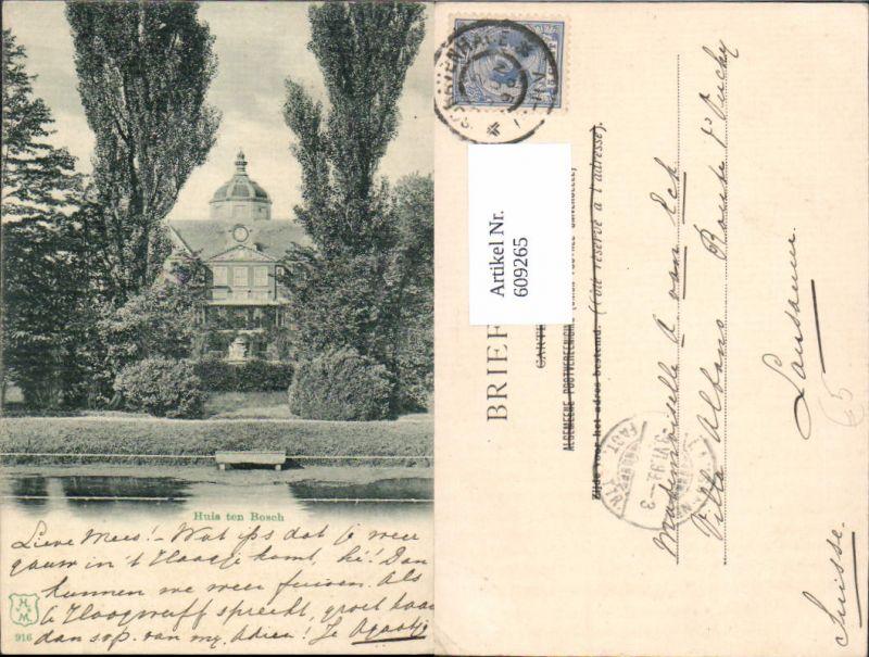 609265,Den Haag Schloss Huis ten Bosch Netherlands