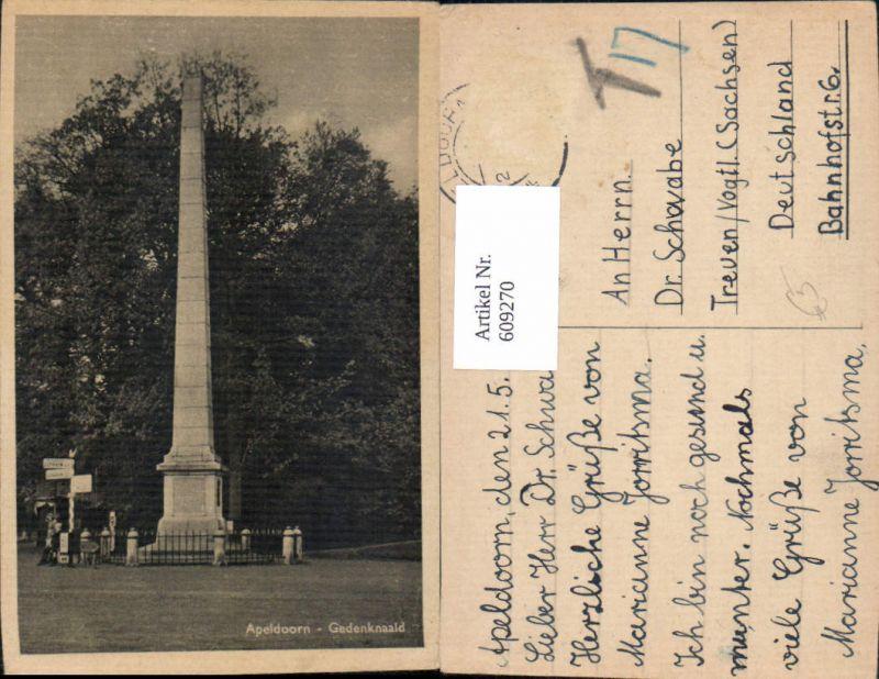 609270,Apeldoorn Gedenknaald Obelisk Netherlands
