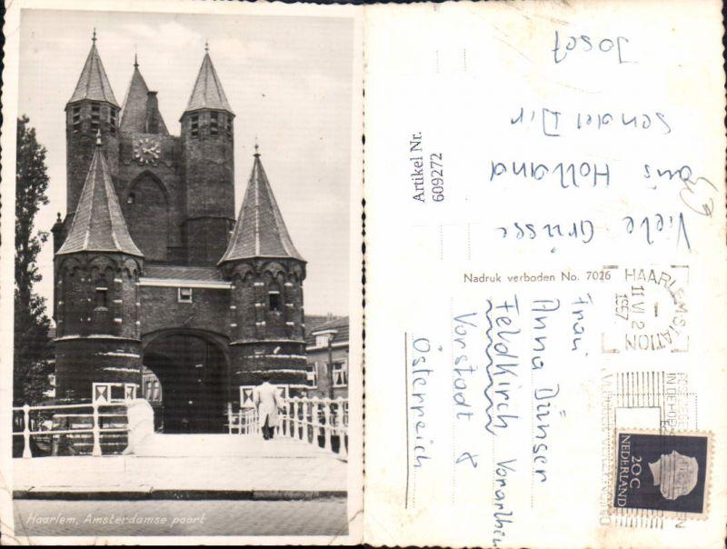 609272,Foto Ak Haarlem Amsterdamse poort Netherlands