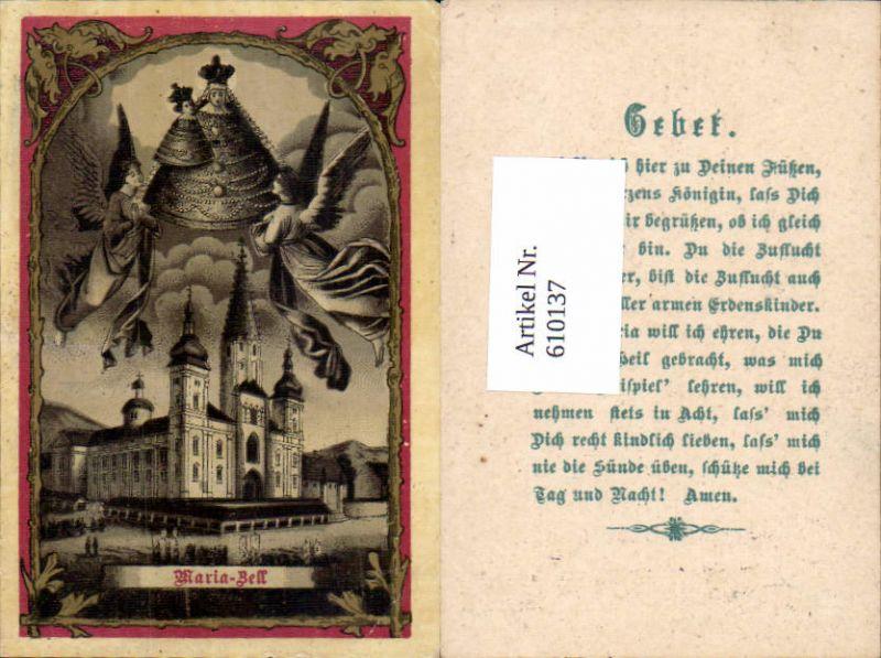 610137,Andachtsbild Heiligenbildchen Mariazell Maria Zell Gnadenbild