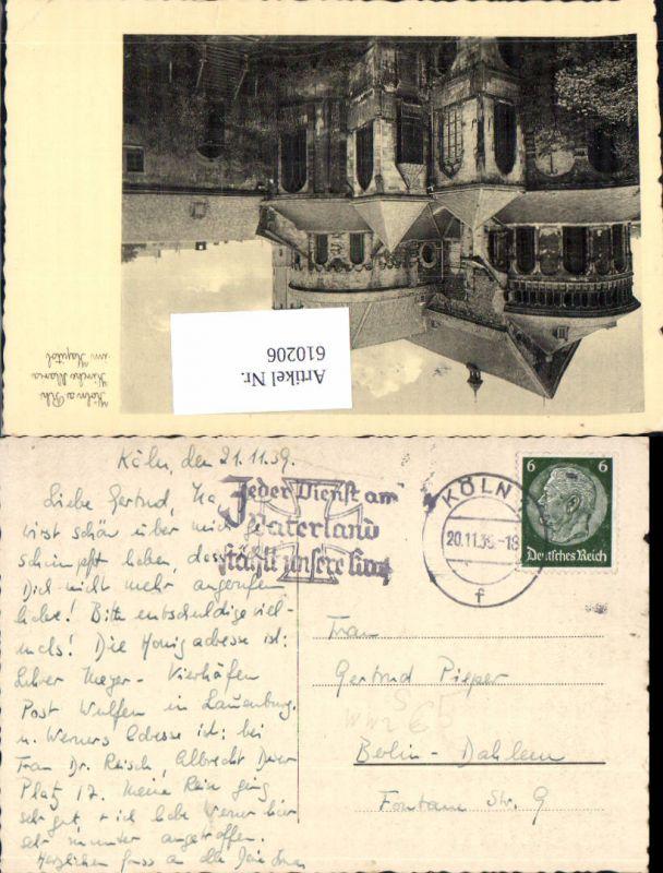 610206,Stempel Köln nach Berlin Dahlem 1939