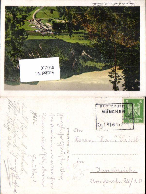 610216,Bahnpost München Zug 1318 nach Innsbruck Bayerischzell