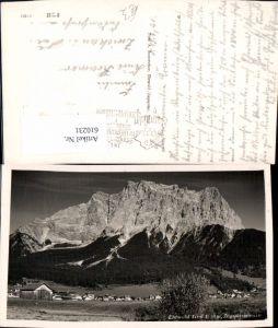 610231,Foto Ak Ehrwald i. Tirol Zugspitzmassiv