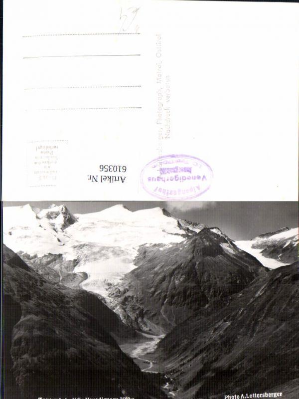 610356,Foto Ak Tauerntal m. Großvenediger Innergschlöß Matrei in Osttirol