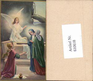 610618,Andachtsbild Heiligenbildchen Engel Auferstehung