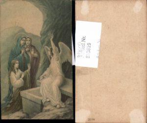 610619,Andachtsbild Heiligenbildchen Engel Jesus Auferstehung