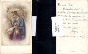 610625,Andachtsbild Heiligenbildchen Maria Rosen