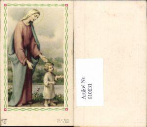 610631,Andachtsbild Heiligenbildchen Maria