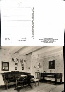 611564,Foto Ak Haus Rüschhaus Nienberge b. Münster i. Westfalen Dichterin Annette v. Droste-Hülshoff Interieur