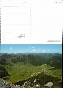 611855,Blick v. d. Sonnenspitze auf d. Ehrwalder Becken Ehrwald