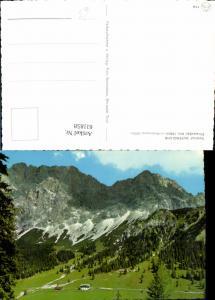 611858,Gasthof Alpenglühn Ehrwalder Alm m. Wetterwand Ehrwald