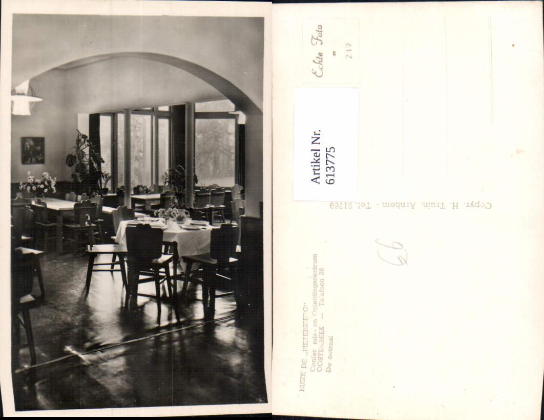 613775,Foto Ak Oosterbeek Huize de Pietersberg Restaurant Innenansicht Netherlands