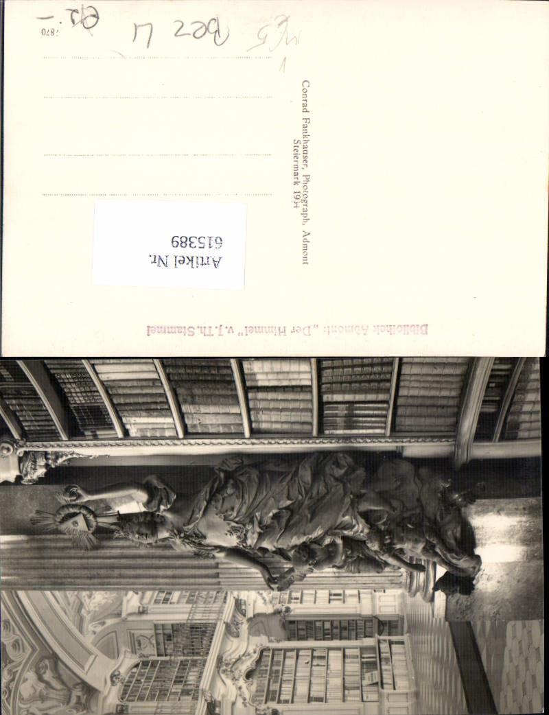 615389,Admont im Gesäuse Bibliothek pub Conrad Fankhauser