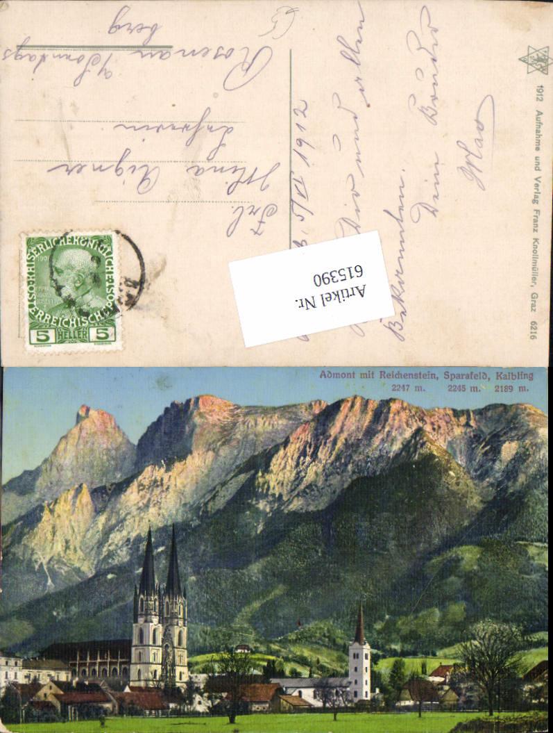 615390,Admont im Gesäuse m. Reichenstein Sparafeld